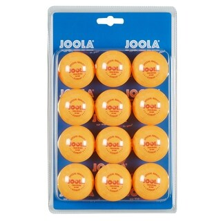 JOOLA 40mm 3-Star Table Tennis Training Balls (12 Count) - Orange