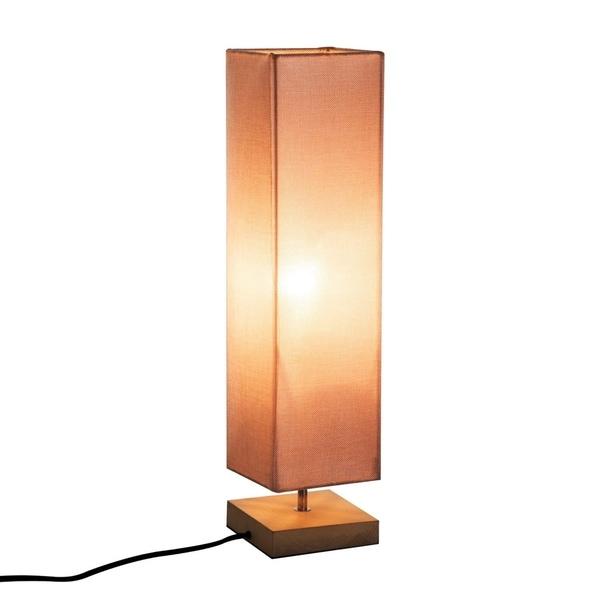Shop Homcom 23 Modern Square Minimalist Table Lamp Linen Shade With