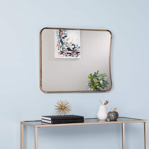 Evelyn Large Decorative Mirror - Glam Style - Champagne - A
