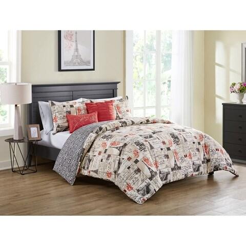 VCNY Home Jolie Paris Reversible Comforter Set