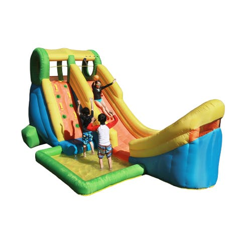 Sportspower Inflatable Half Pipe Water Slide