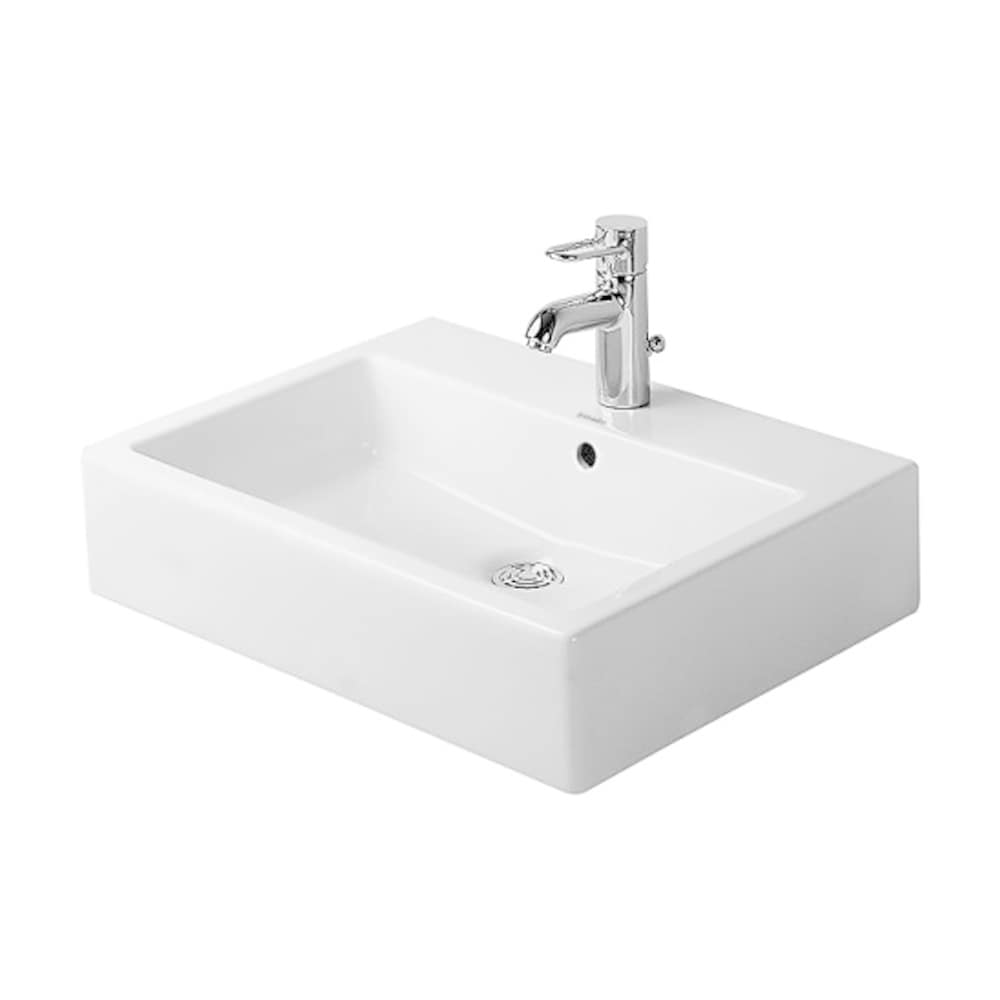 Duravit Vero Above-Counter Basin with Faucet Deck 0452500000 White
