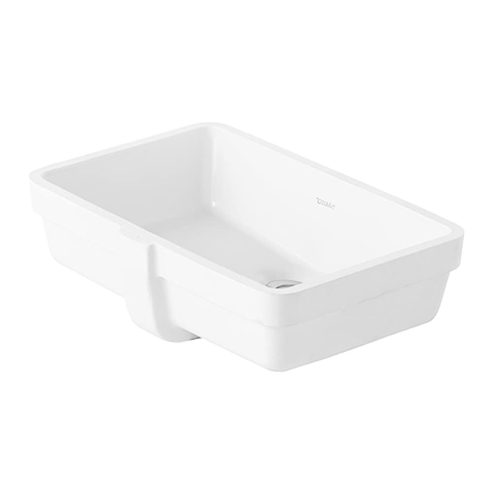 Duravit Vero Vanity Undermount Basin with Overflow 0330480000 White