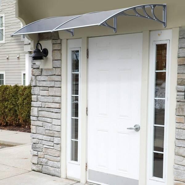 Clear Polycarbonate Patio Porch Door