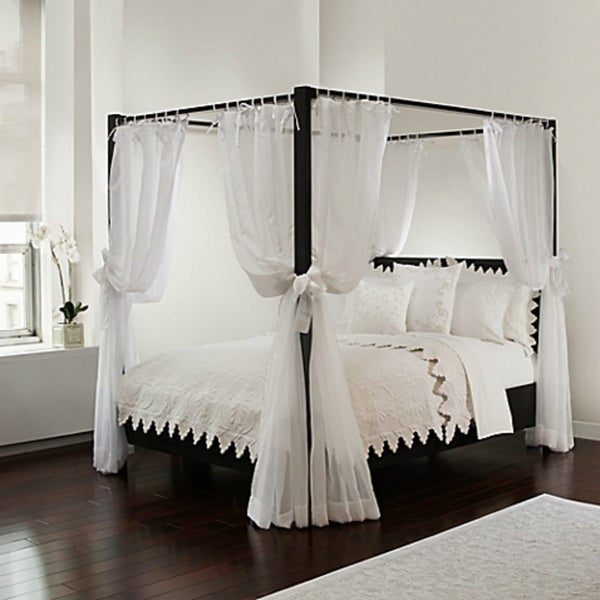 Royale Linens 8 Piece Bed Canopy Panels. Opens flyout.
