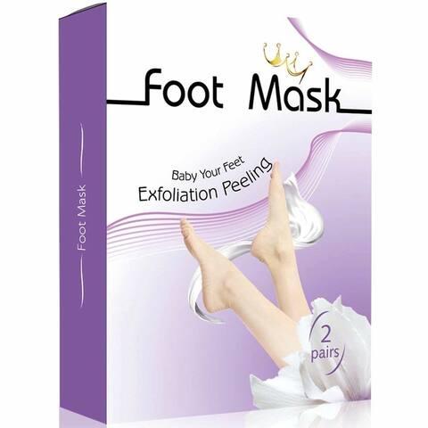 Exfoliating Foot Mask Peel For Dry Callused Skin (2 Pairs)