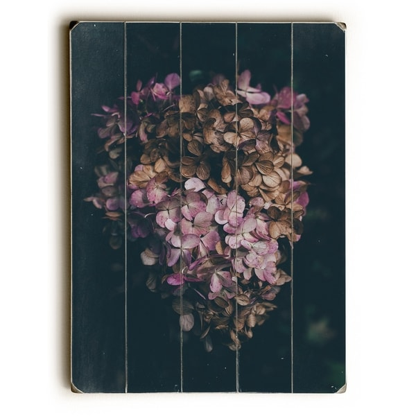 Dead Bouquet - Multi Planked Wood Wall Decor by OBC