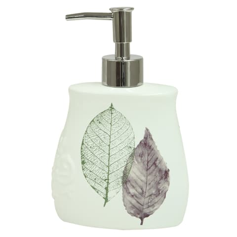 Seville soap dispenser by Bacova - White