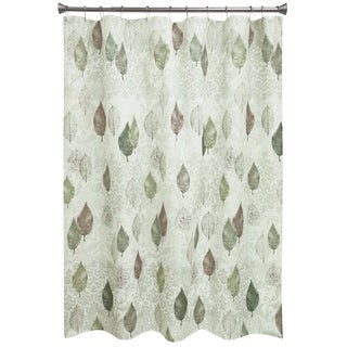 Shop Shadow Leaves Shower Curtain And Bathroom Accessories Separates Free Shipping On Orders