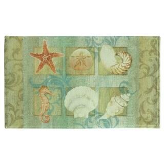 Ocean bath rug by Bacova