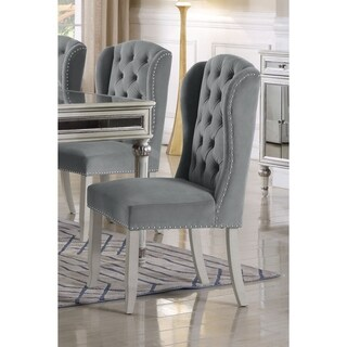 Link to Best Master Furniture Wingback Side Chair (Set of 2) Similar Items in Kitchen & Dining Room Chairs
