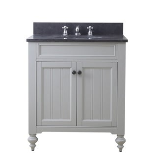 30 Inch Earl Grey Single Sink Bathroom Vanity From The Potenza Collection