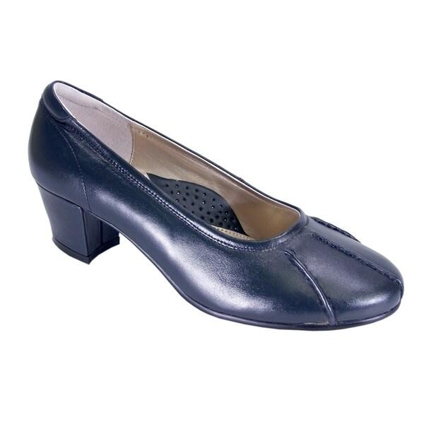 be4bf0710 Shop PEERAGE Kori Women Extra Wide Width Trendy Comfortable Dress ...