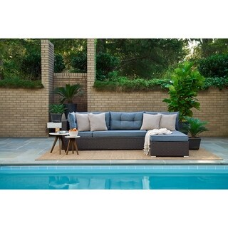 Relax A Lounger Havanah Modular Convertible Brown