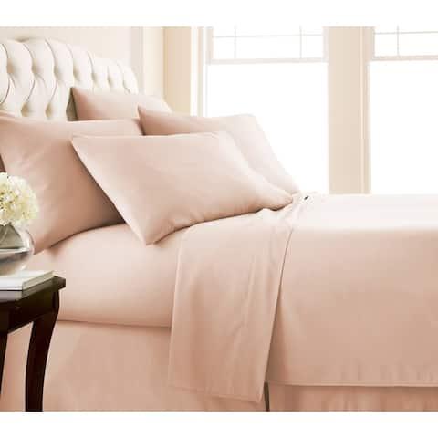 Adjustable Mattress Split King Ultra-Soft 7-piece Bed Sheet Set