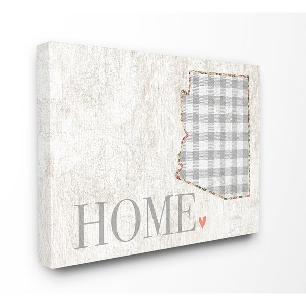 Shop The Stupell Home Decor Collection Arizona Grey Gingham And
