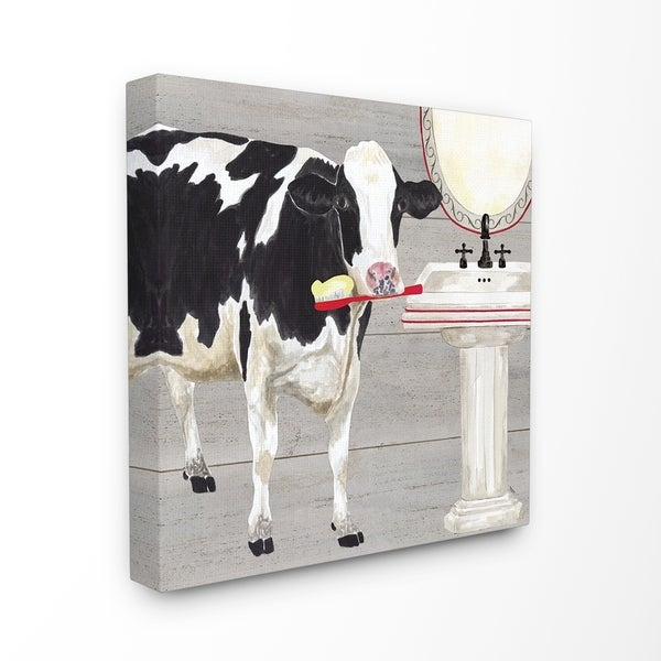 Shop The Stupell Home Decor Collection Bath Time For Cows