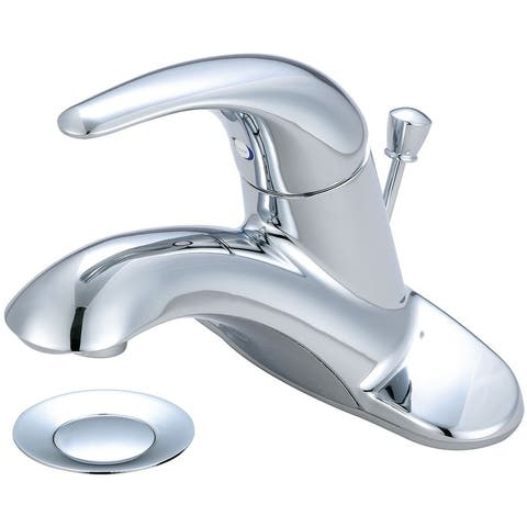 Legacy Single Handle Bath Faucet with 3/8 Inch Flex Supply Lines