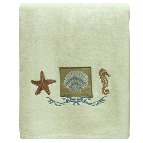 Ocean bath towel by Bacova