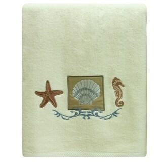Ocean bath towel by Bacova