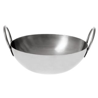 Carbon Steel Balti Pan, 10in