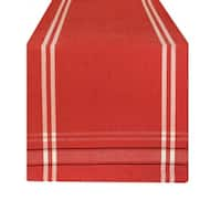 Design Imports Chambray French Stripe Table Runner (0.25 inches high x 14 inches wide x 72 inches deep)