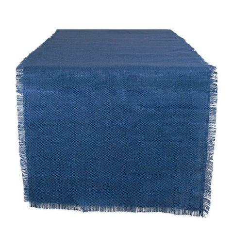 Design Imports Jute Burlap Solid Table Runner (0.25 inches high x 15 inches wide x 48 inches deep)
