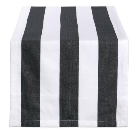 Design Imports Dobby Stripe Table Runner