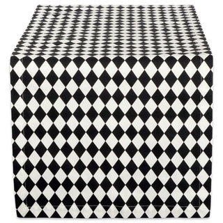 Design Imports Harelquin Print Table Runner (0.25 inches high x 14 inches wide x 72 inches deep)