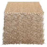 """Design Imports Sequin Mesh Roll Table Runner (0.25 inches high x 16 inches wide x 120 inches deep) - 120""""x16"""""""