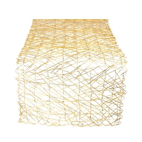 """DII Woven Paper Table Runner - 72""""x14"""""""