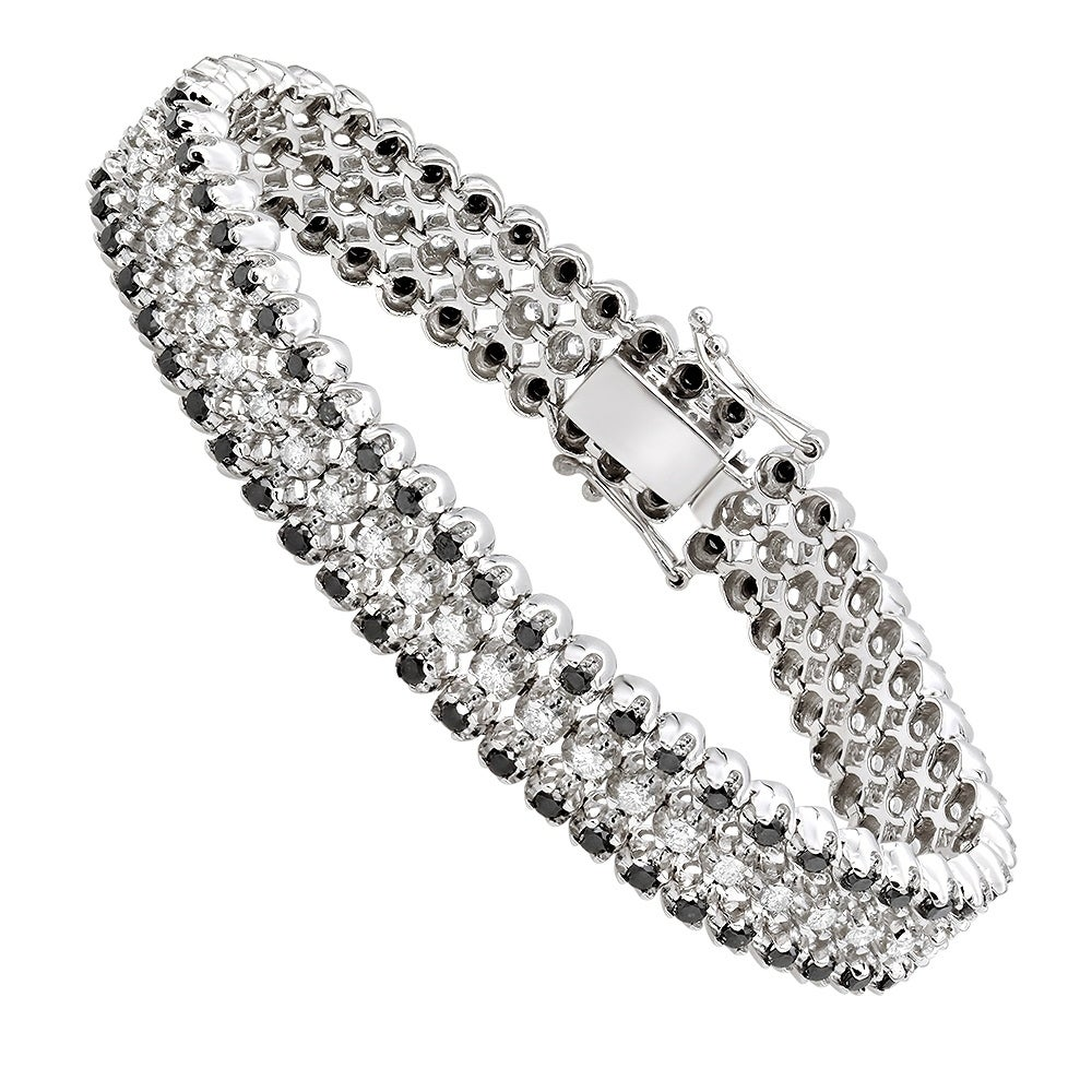 Tennis Bracelet For Men In 10k Gold