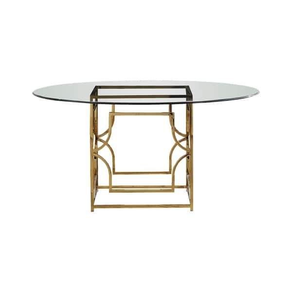 Amazing Shop Best Master Furniture 60 Inch Round Glass Dining Table Gmtry Best Dining Table And Chair Ideas Images Gmtryco