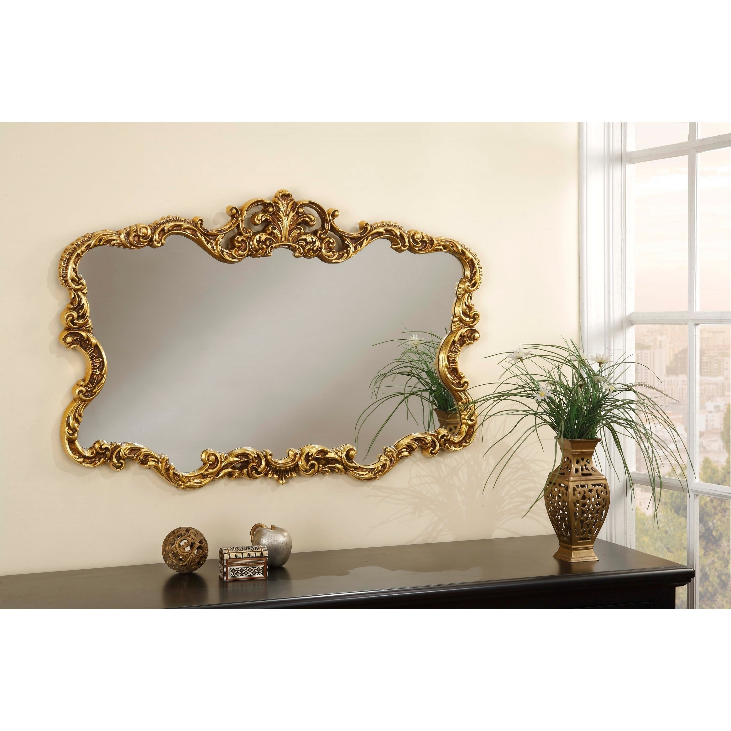 Buy Gold Mirrors Online at Overstock.com | Our Best Decorative ...