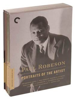 Paul Robeson: Portraits of the Artist Box Set - Criterion Collection (DVD)