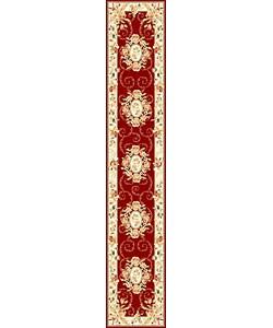Safavieh Lyndhurst Traditional Oriental Red/ Ivory Runner (2'3 x 12')