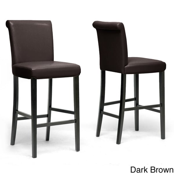 traditional 30 bar stool by baxton studio free shipping today 10498554. Black Bedroom Furniture Sets. Home Design Ideas