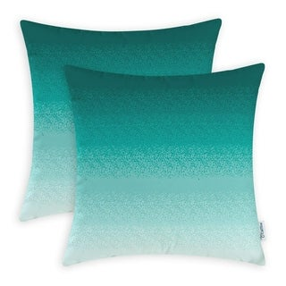 Teal to Duck Egg Pillow Cases