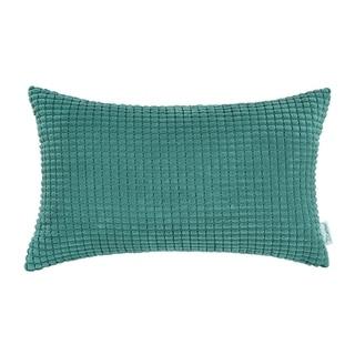 Bolster Pillow Cover Case Teal