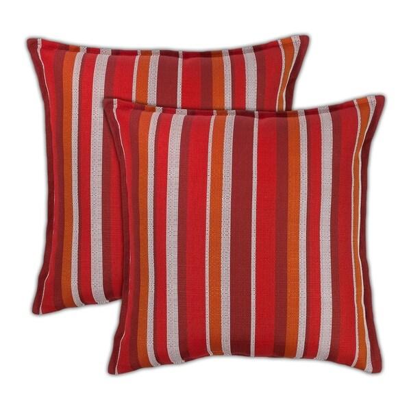 Shop Sherry Kline Causeway 20 Inch Outdoor Pillows Set Of 2 20 X