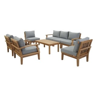 Pier 8 Piece Outdoor Patio Teak Set