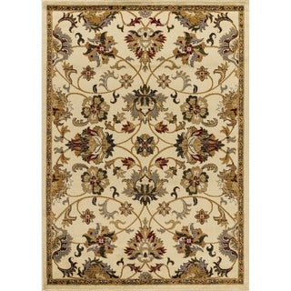"""Mod-Arte Crown Collection, CR04, Persian Inspired , Medaliion Print & Classic Border Traditional Area Rug,  7'8"""" x 10'2"""""""