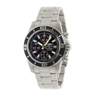 Breitling Men's 'Superocean II 44' Chronograph Automatic Stainless Steel Watch