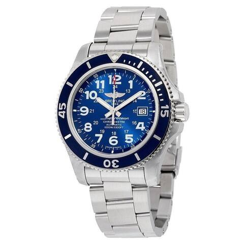 Breitling Men's A17392D8-C910-162A 'Superocean II 44' Automatic Stainless Steel Watch