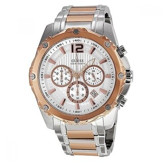 Guess Men's Chronograph Two-Tone Stainless Steel Watch