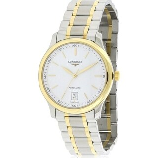 Longines Men's 'Master Collection' 18kt Yellow Gold Automatic Two-Tone Stainless Steel Watch