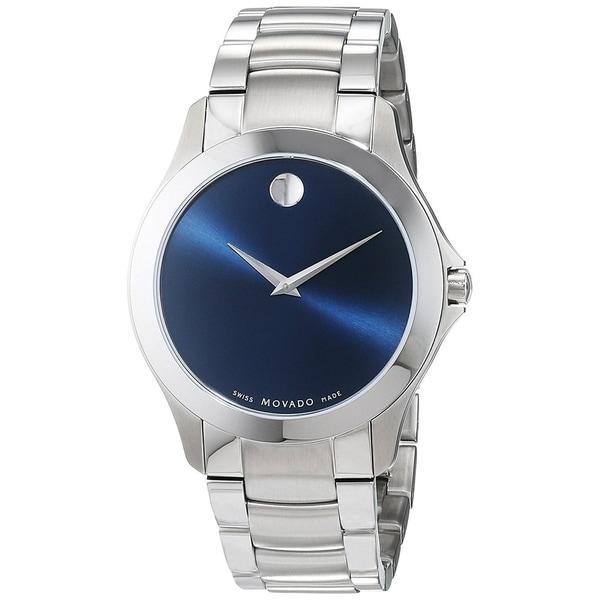 e0dd33dd5181de Shop Movado Men's 'Masino' Stainless Steel Watch - Free Shipping Today -  Overstock - 22391177