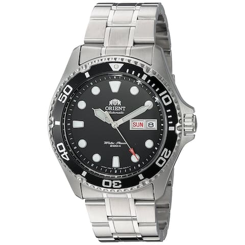 Orient Men's 'Ray II' Automatic Stainless Steel Watch