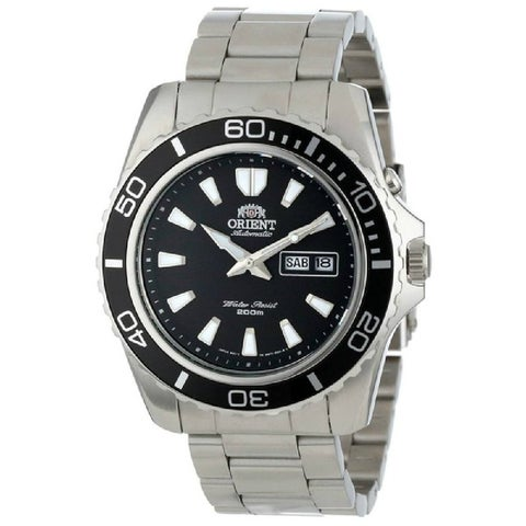 Orient Men's 'Mako XL' Automatic Stainless Steel Watch