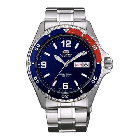 Orient Men's FAA02009D9 'Mako II' Automatic Stainless Steel Watch